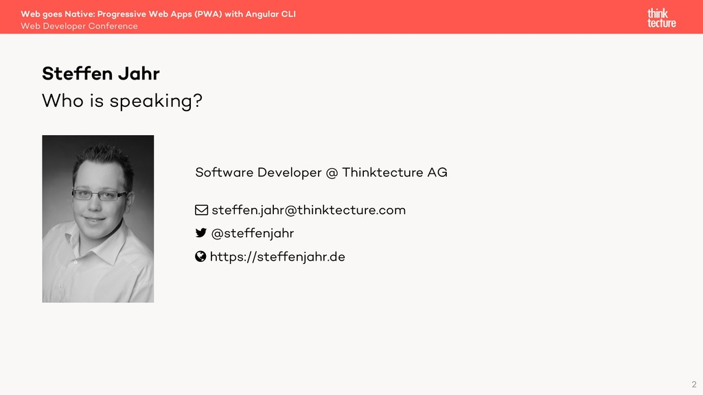 Web Developer Conference Web goes Native: Progr...