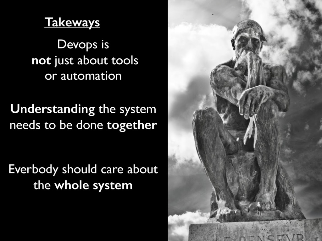 Devops is not just about tools or automation Un...