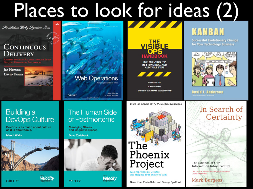 Places to look for ideas (2)