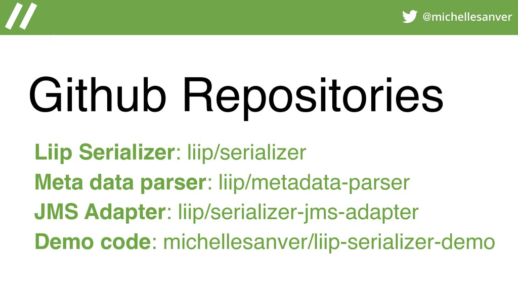 @michellesanver Github Repositories Liip Serial...
