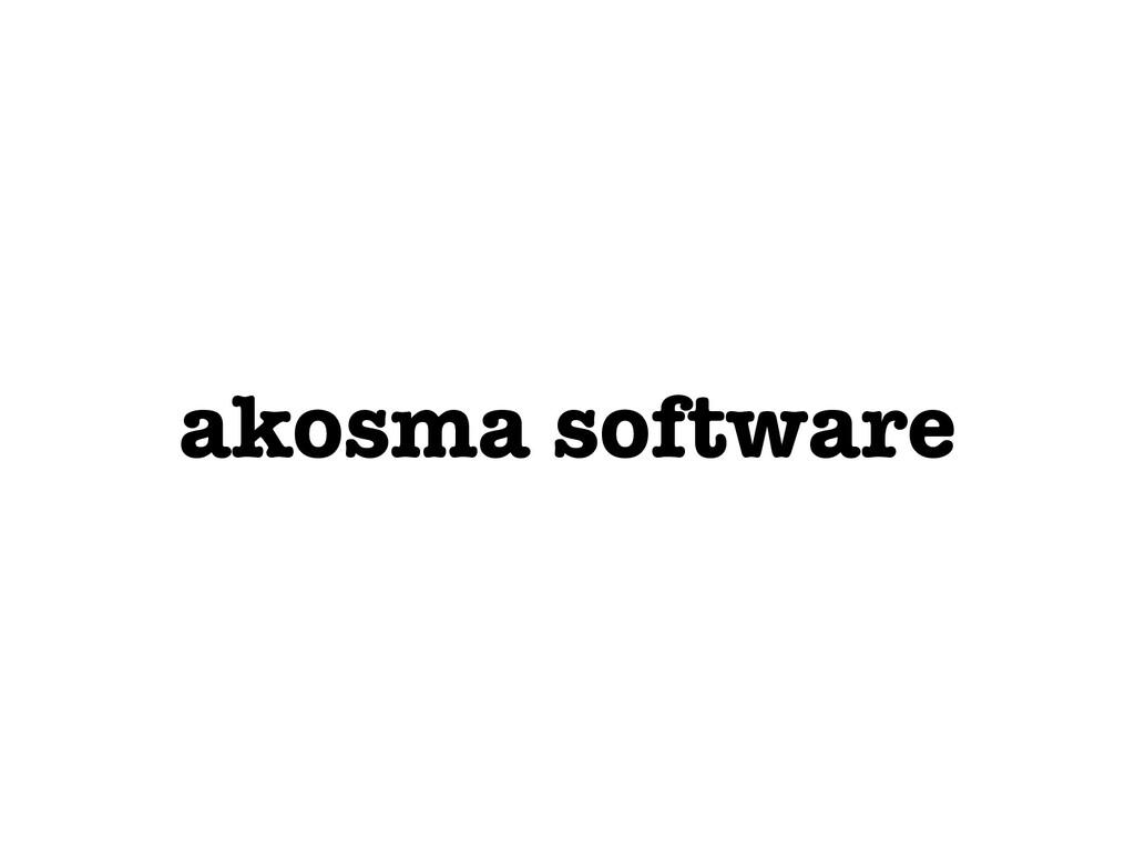 akosma software