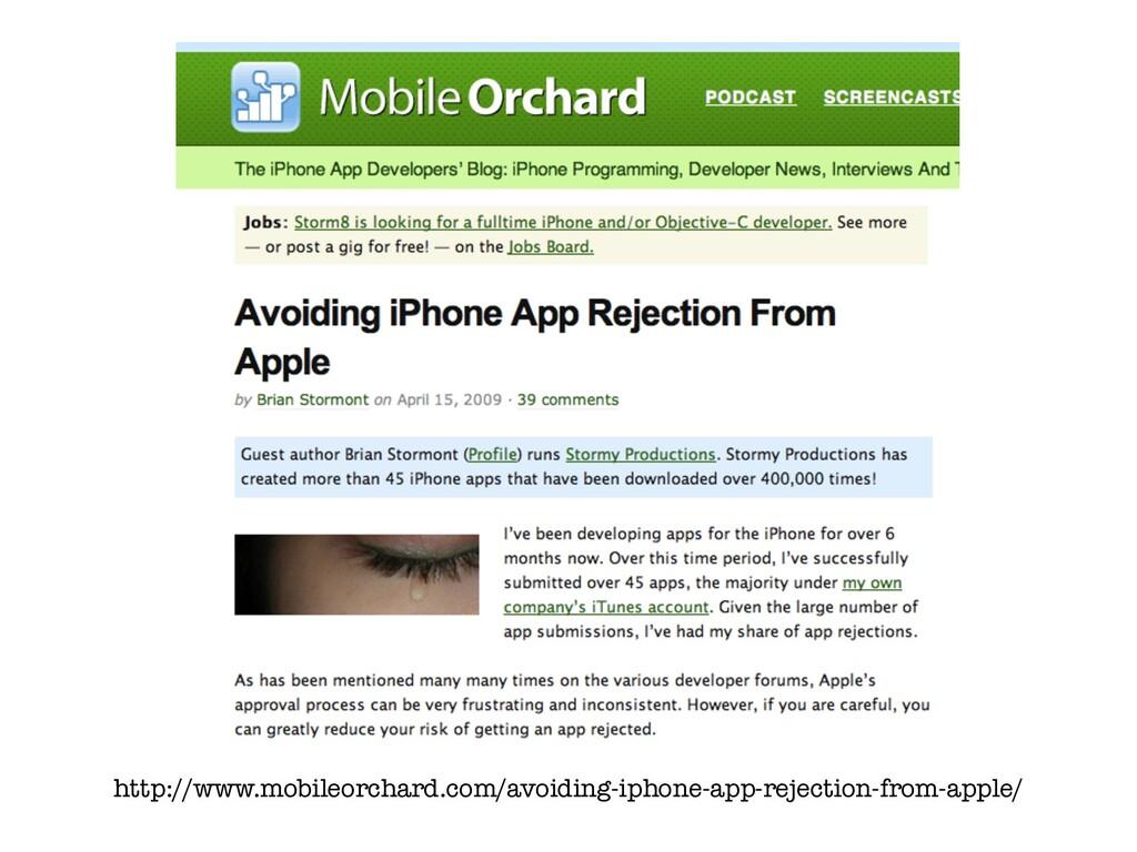 http://www.mobileorchard.com/avoiding-iphone-ap...