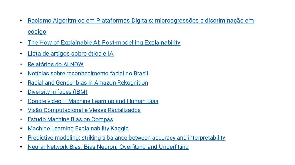 • Racismo Algorítmico em Plataformas Digitais: ...
