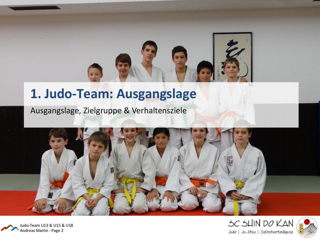 Andreas Martin - Page 2 1. Judo-Team: Ausgangsl...
