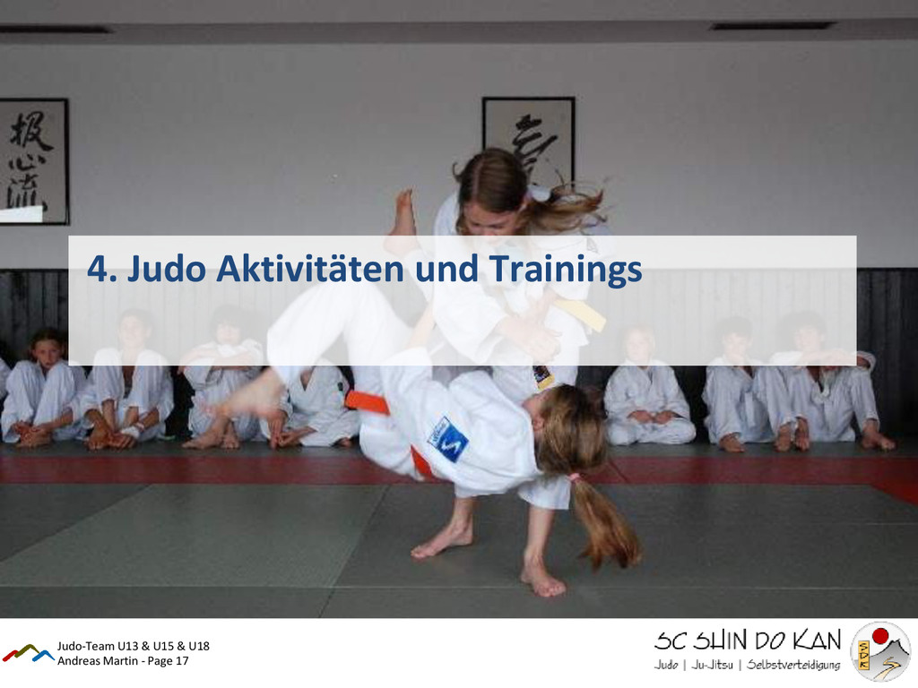 Andreas Martin - Page 17 4. Judo Aktivitäten un...