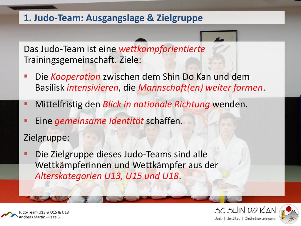 Andreas Martin - Page 3 1. Judo-Team: Ausgangsl...