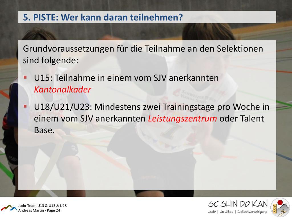 Andreas Martin - Page 24 5. PISTE: Wer kann dar...