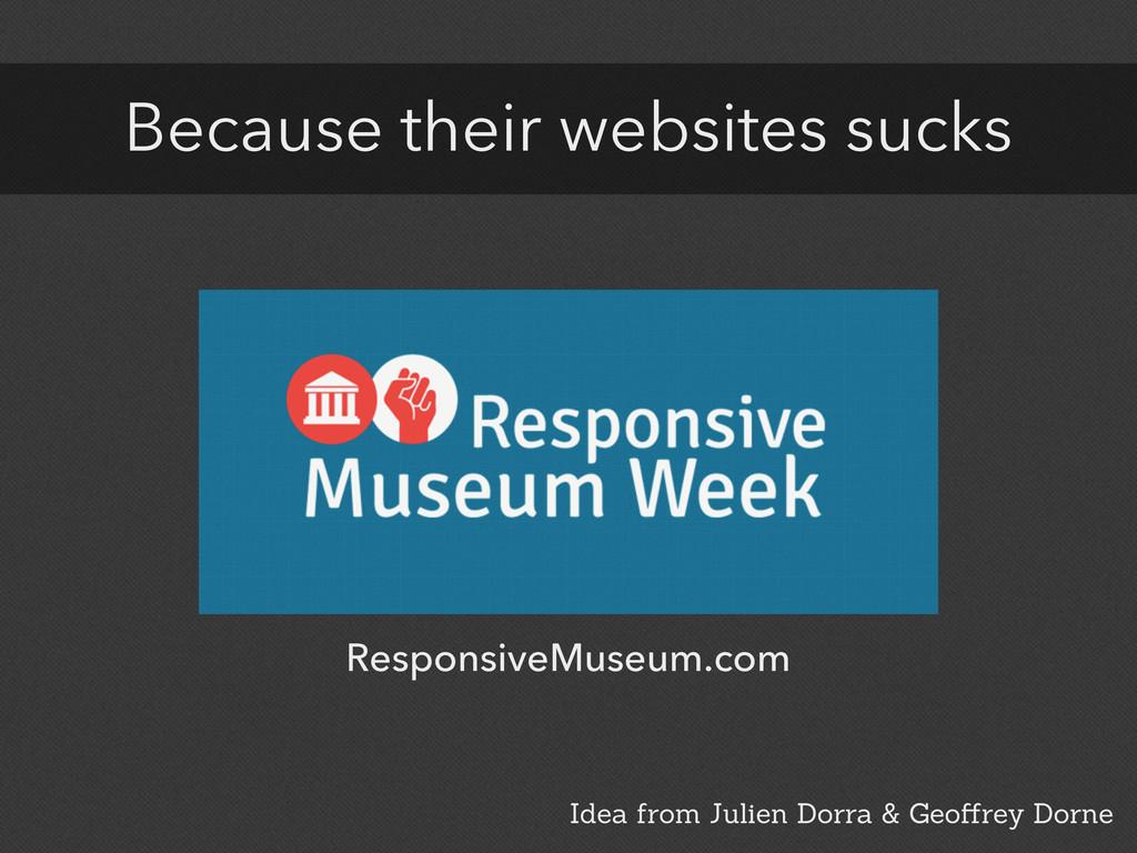 ResponsiveMuseum.com Idea from Julien Dorra & G...