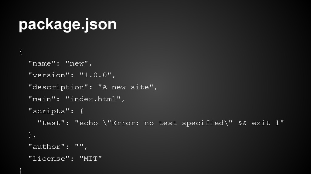"{ ""name"": ""new"", ""version"": ""1.0.0"", ""descripti..."