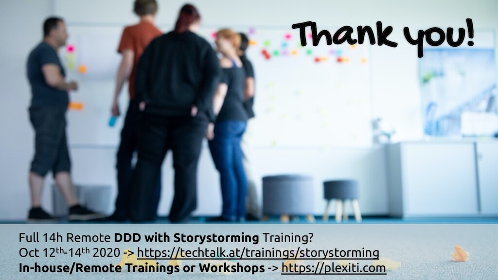 Thank you! Full 14h Remote DDD with Storystormi...
