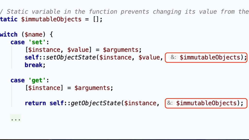55 Trick #5.2: Use it by-reference
