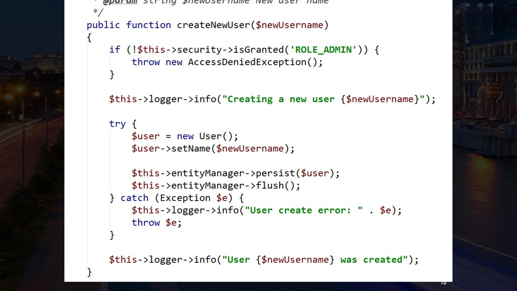 Is this code good or bad? 72