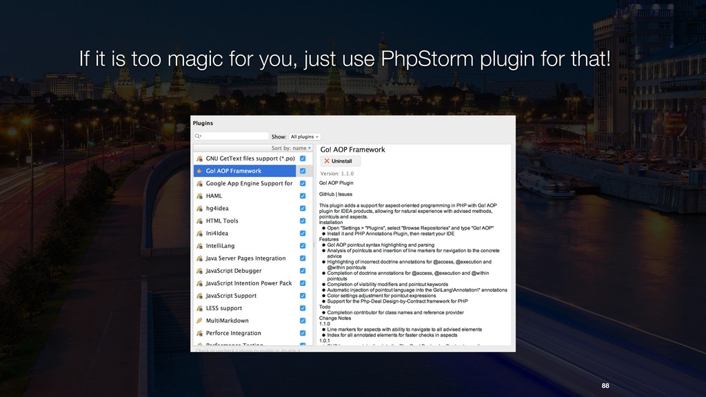 If it is too magic for you, just use PhpStorm p...