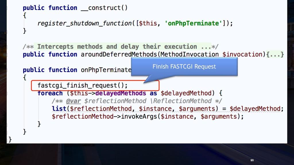 Trick 9.2. Define an aspect 95 Finish FASTCGI Re...