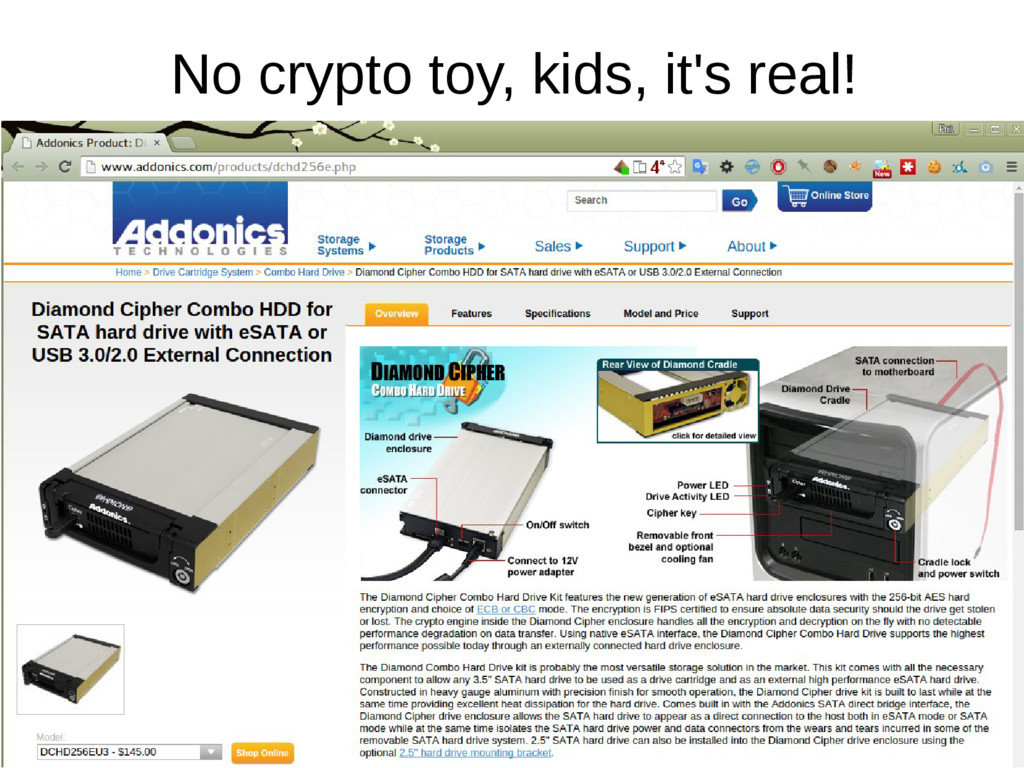 No crypto toy, kids, it's real!