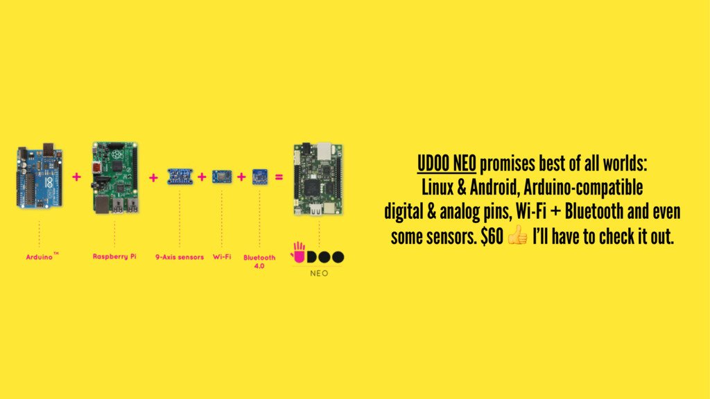 UDOO NEO promises best of all worlds: Linux & A...