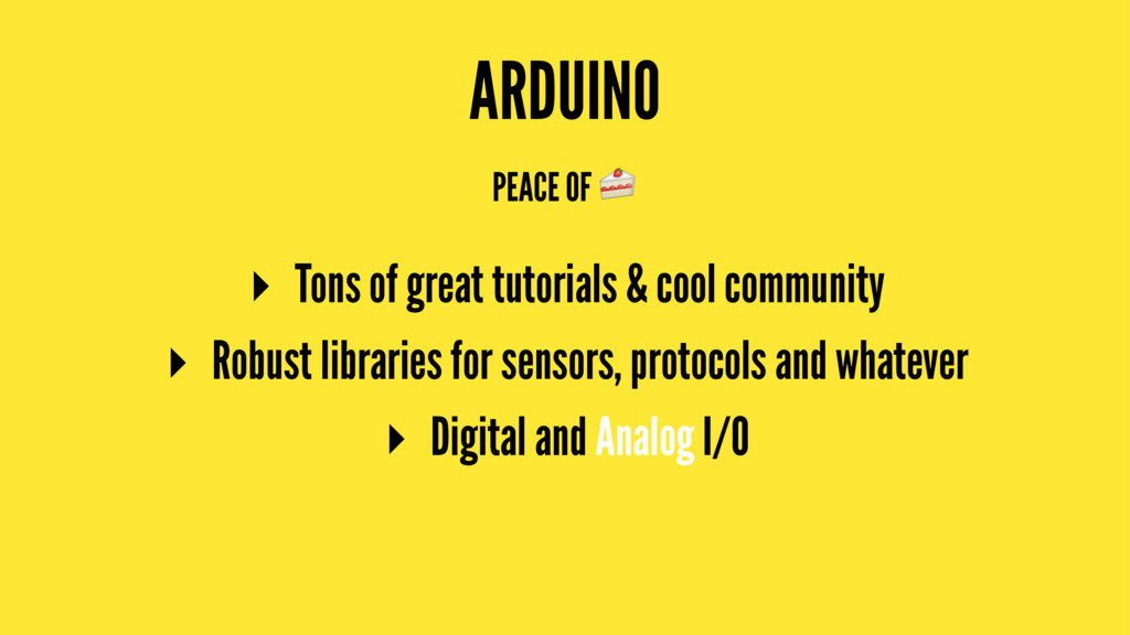 ARDUINO PEACE OF ! ▸ Tons of great tutorials & ...