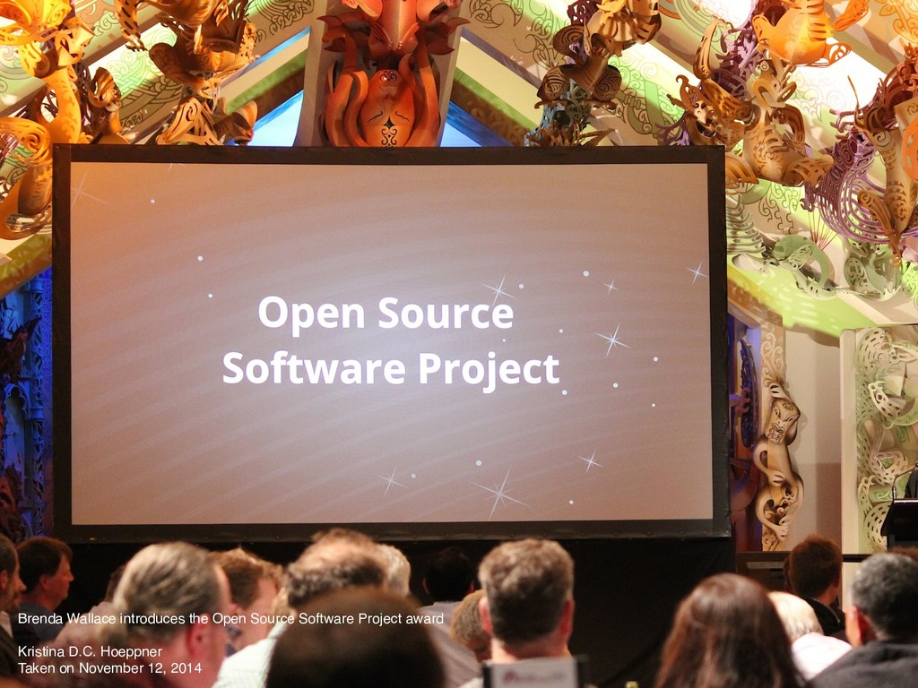 Brenda Wallace introduces the Open Source Softw...