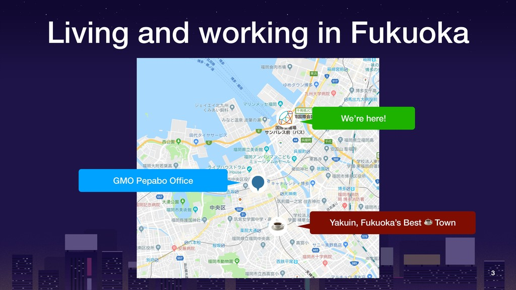 Living and working in Fukuoka 3 ☕ We're here! G...
