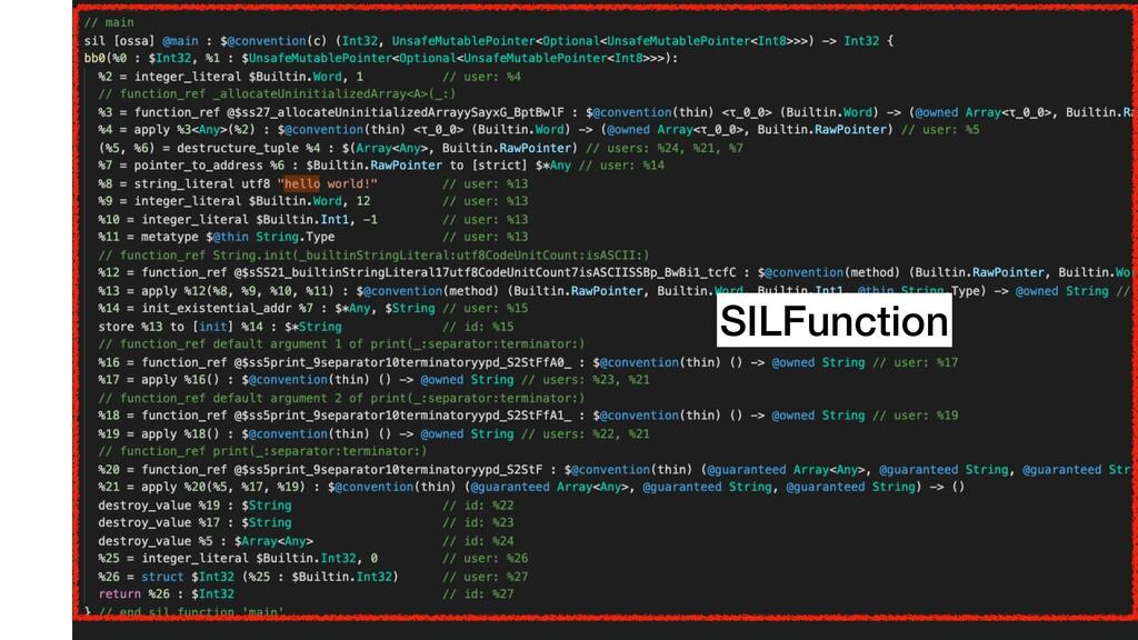 SILFunction