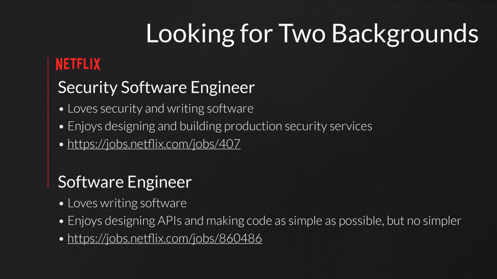 Security Software Engineer • Loves security and...
