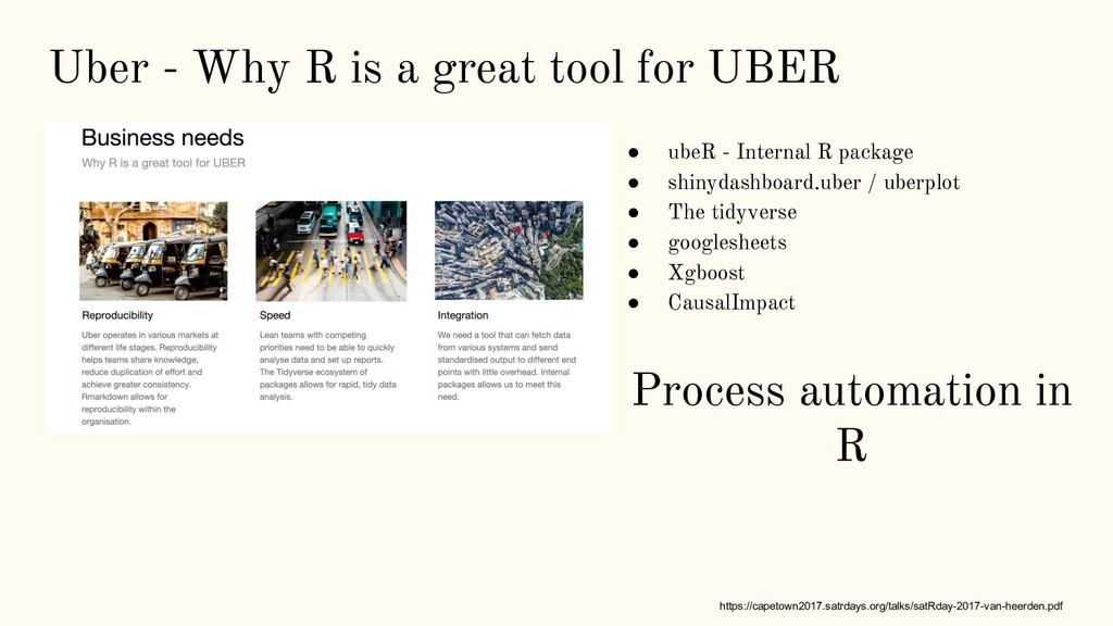 Uber - Why R is a great tool for UBER https://c...