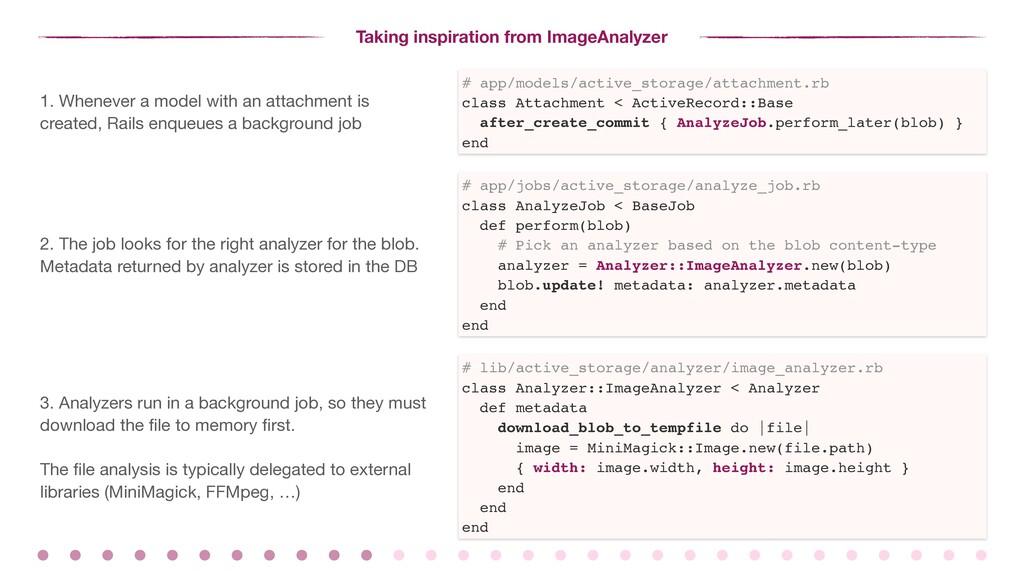Taking inspiration from ImageAnalyzer # app/mod...