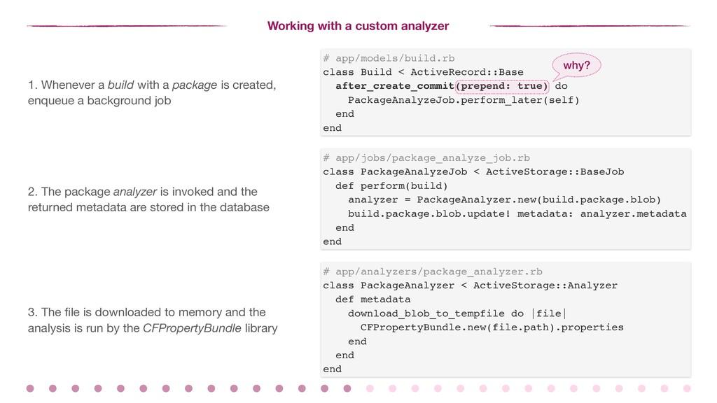 Working with a custom analyzer # app/models/bui...