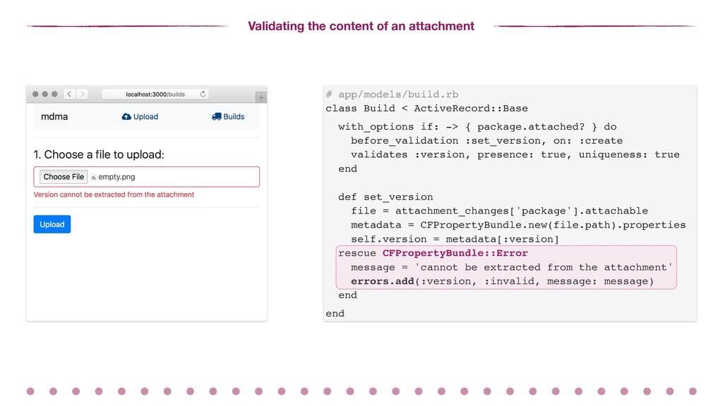 Validating the content of an attachment # app/m...
