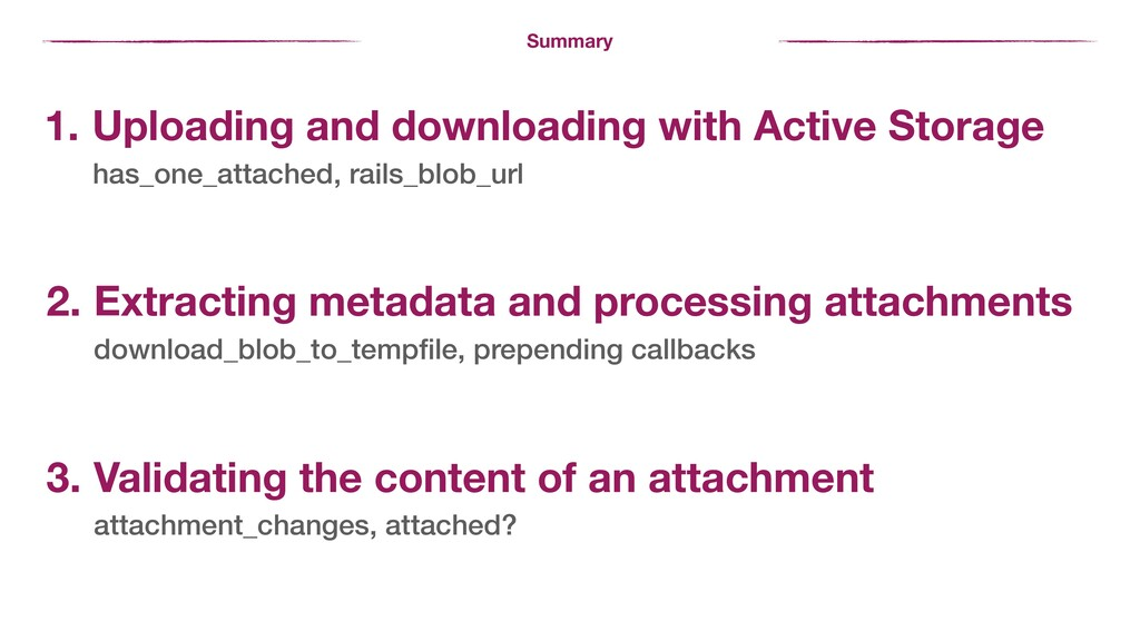 Summary 1. Uploading and downloading with Activ...