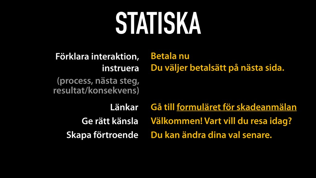 STATISKA Förklara interaktion, 
