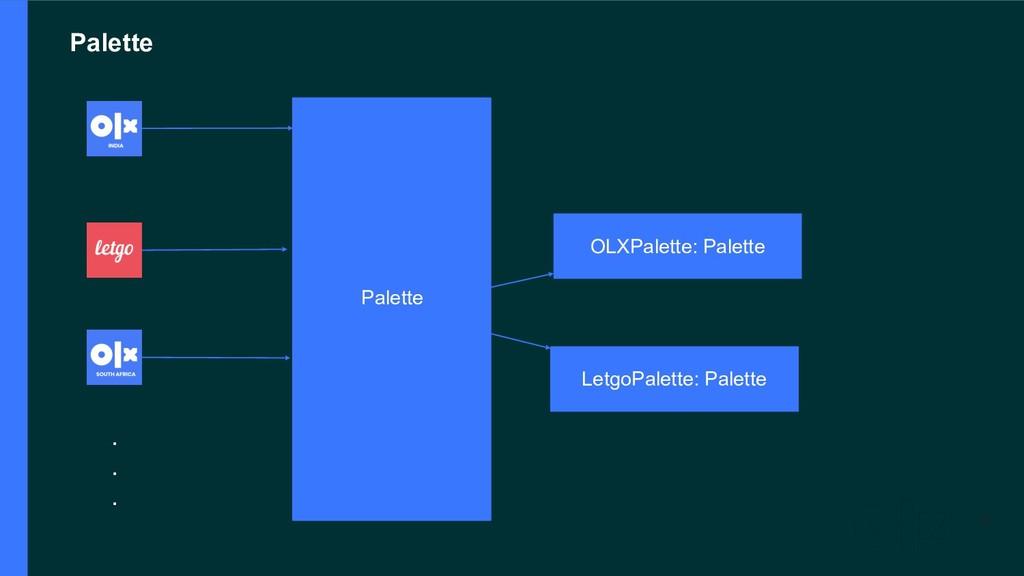 Palette !6 Palette OLXPalette: Palette LetgoPal...