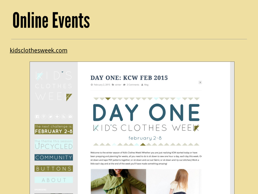 Online Events kidsclothesweek.com