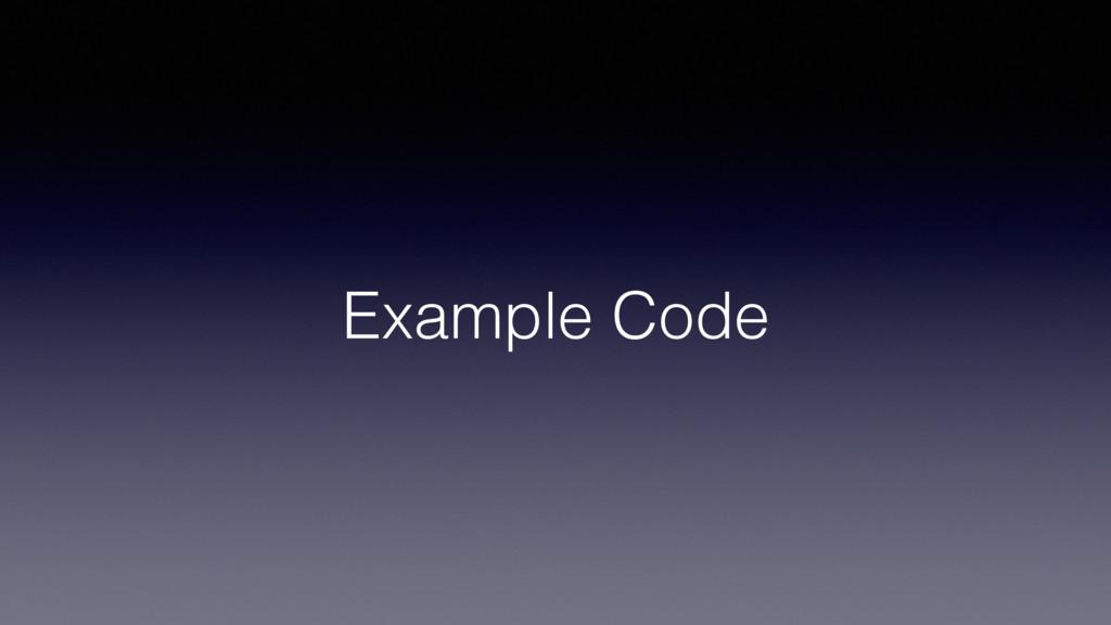 Example Code!