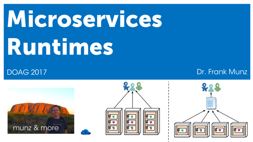 munz & more Microservices Runtimes DOAG 2017 Dr...