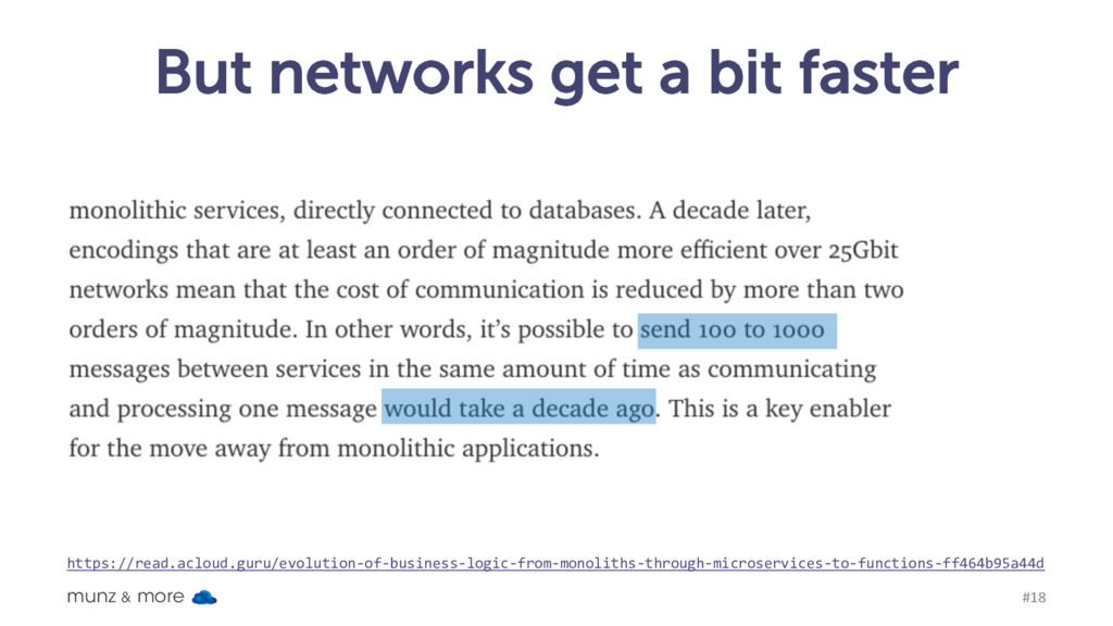 But networks get a bit faster munz & more #18 h...