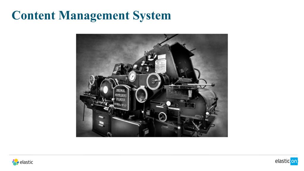 Content Management System