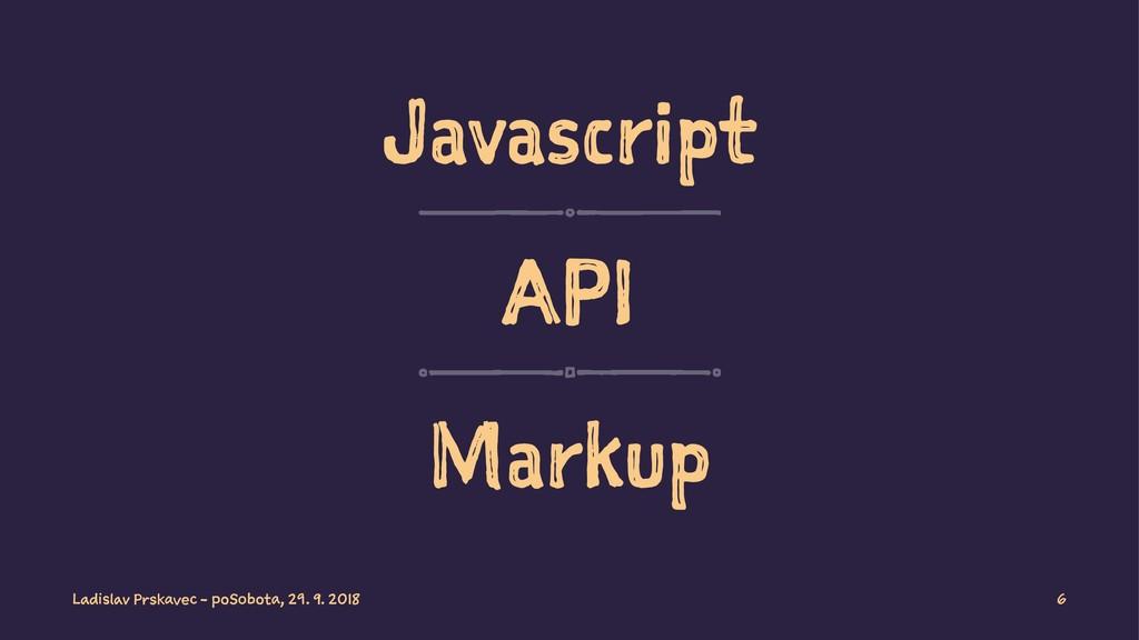 Javascript API Markup Ladislav Prskavec - poSob...