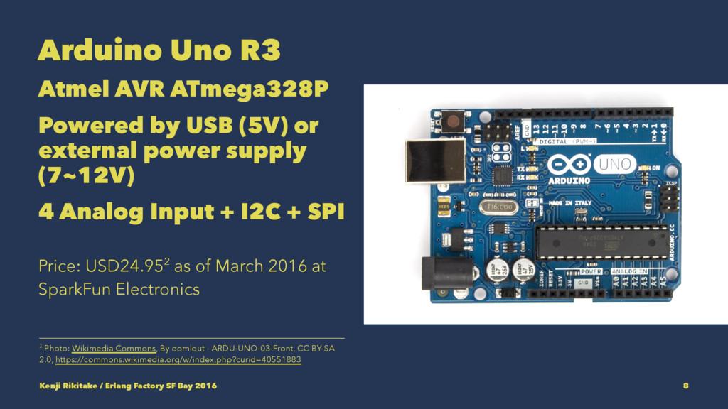 Arduino Uno R3 Atmel AVR ATmega328P Powered by ...