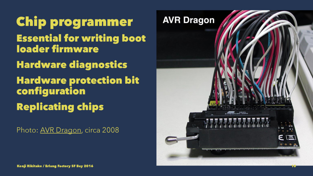 Chip programmer Essential for writing boot load...