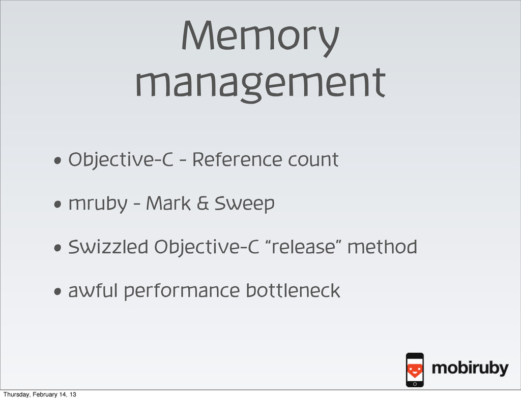 Memory management • Objective-C - Reference cou...