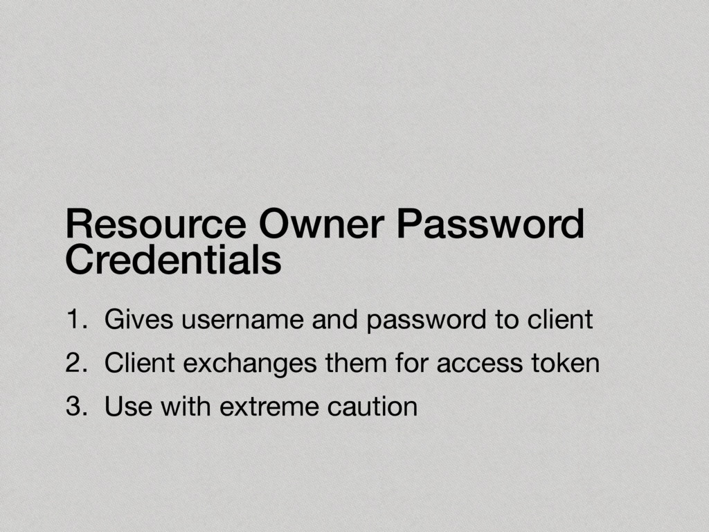 1. Gives username and password to client  2. Cl...