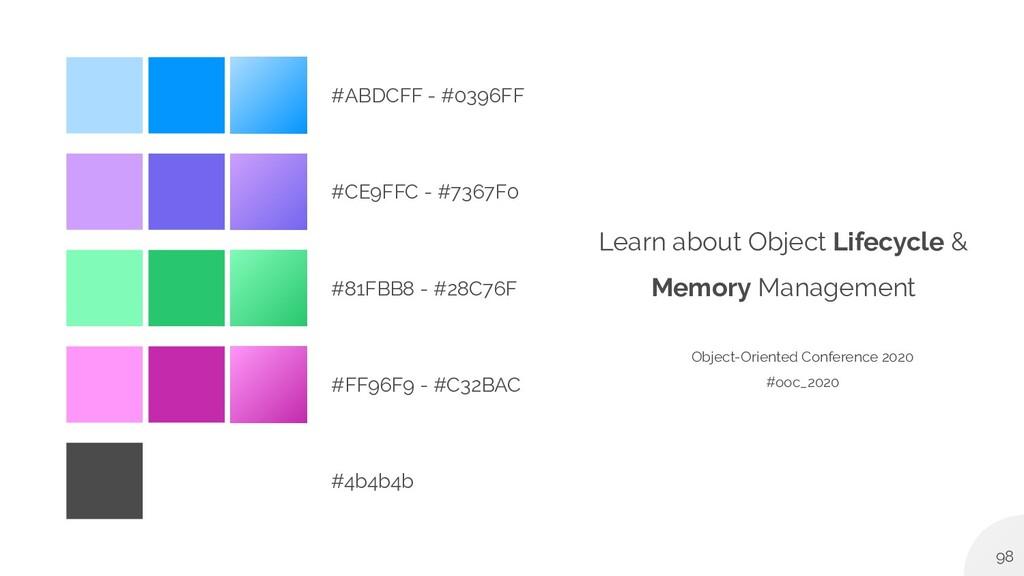 #ABDCFF - #0396FF #CE9FFC - #7367F0 #81FBB8 - #...