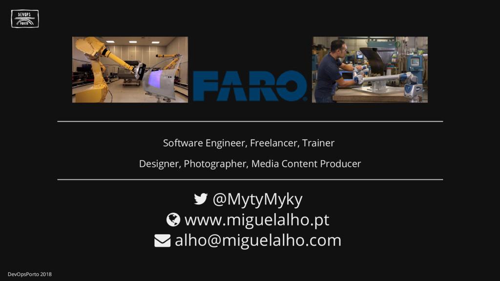 Software Engineer, Freelancer, Trainer Designer...