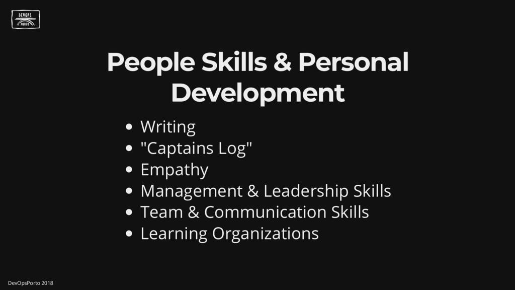 "People Skills & Personal Development Writing "" ..."