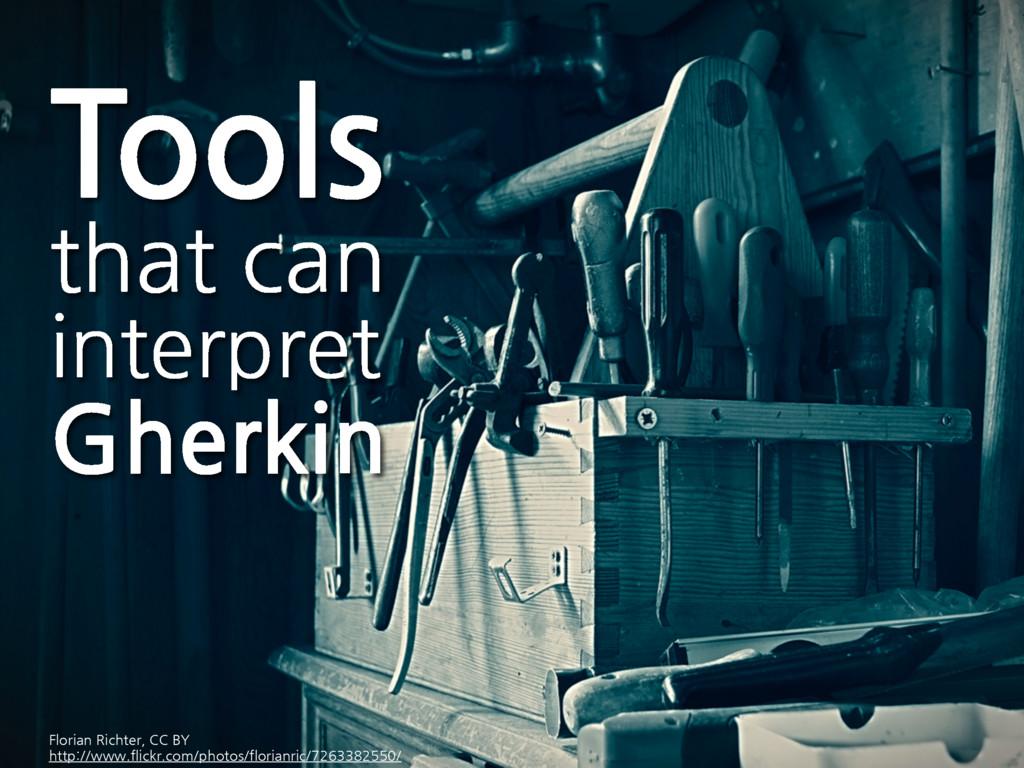 Tools that