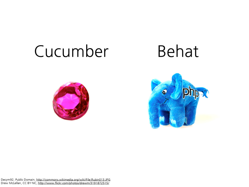 Cucumber Behat Decym92,