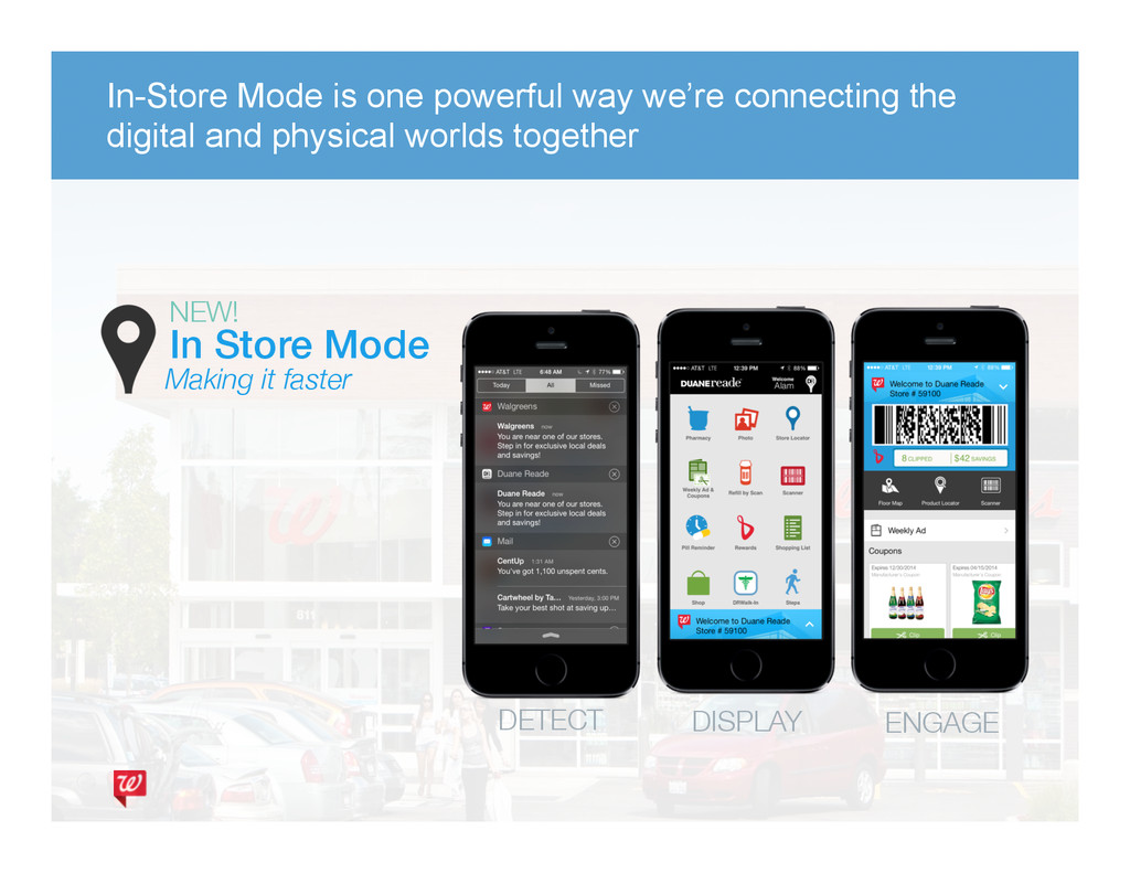 In Store Mode! Making it faster NEW! DETECT ...