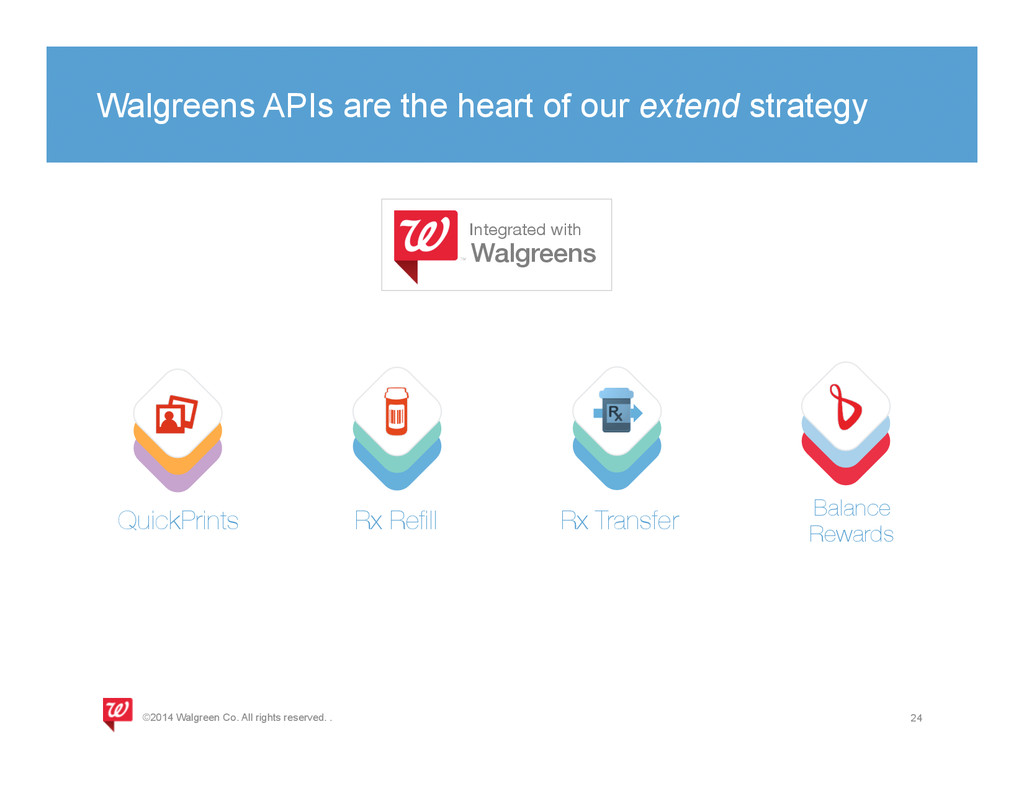 Walgreens APIs are the heart of our extend stra...