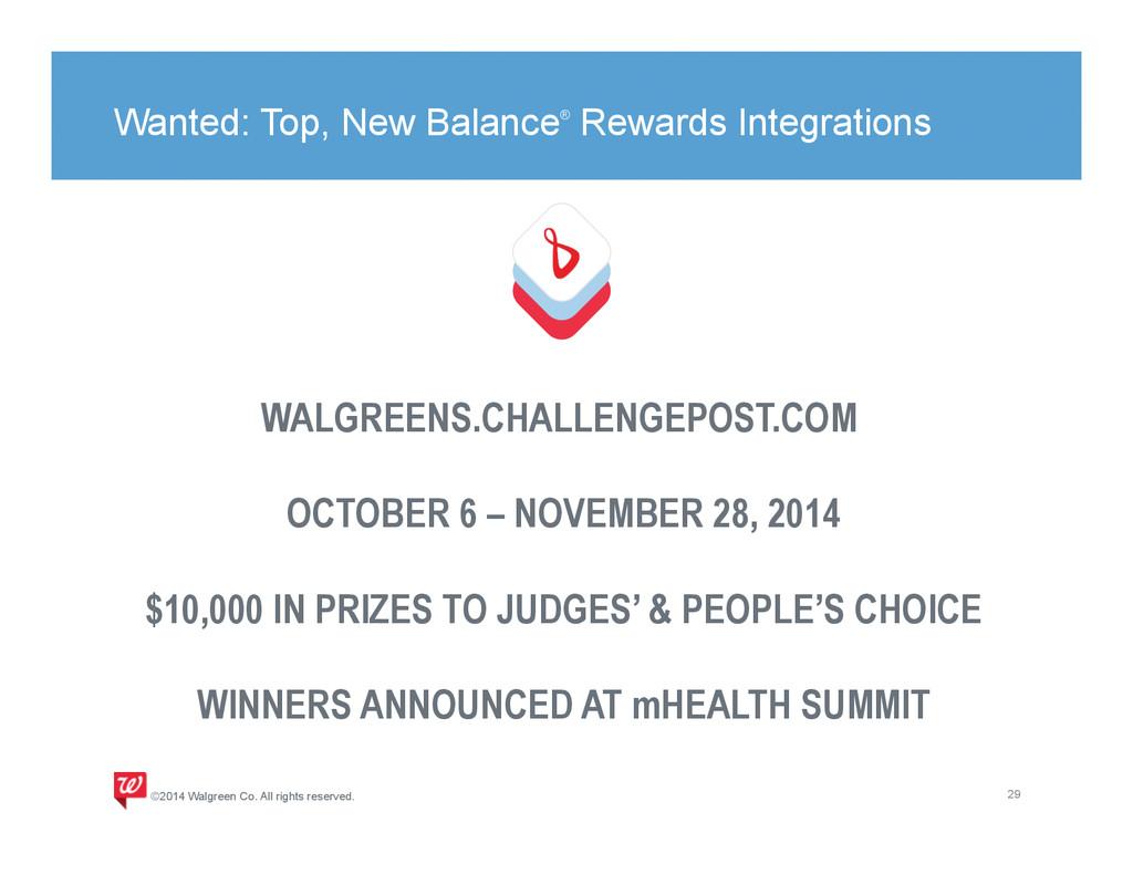 Wanted: Top, New Balance® Rewards Integrations ...